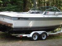 Please call owner Russ at . Boat is in Eagle Rivet,