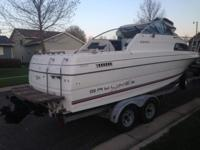 Please call owner Wesley at . Boat is in Brandon, South