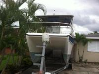 Please call owner Peggy at . Boat Location: North Palm