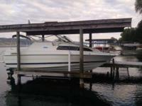 Please call owner Gary at . Boat is in Watkins Glen,