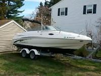 Please call owner Tim at . Boat is in Woodbury, New