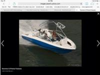 Please call boat owner Howard at . 2012 Regal 2200 with
