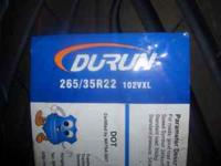 Brand New Never Mounted 235/30/22 Durun Tires $480 for