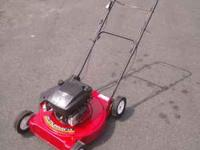 This is a Murray Quantum XTE 4.5 HP Walk behind