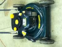 I have for sale a Craftsman push mower that is in good