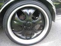 i have a set of black and silver 22 inch rims 265/35/22