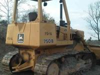 1985 JOHN DEERE 750B, 5500 hours, Good running dozer,