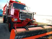 2001 Sterling L7501 Snow Plow Dump Truck, Salt