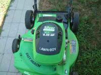 Nice 22 inch Silver Series Lawnboy 6.25 hp rear wheel