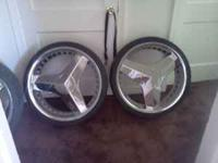 "22"" blades 5lug universal missing one cap.$1000 o.b.o."