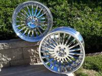 "22"" Giovanna wheels for larger German vehicles (SUV's),"