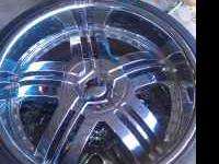 "Nice set of 22"" rims for sell. Please call  Location:"