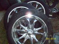 thes6-0160e are some 305-30-22 inche chrome rioms and