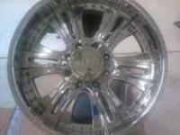 I am selling a set of 4 U2-90 chrome wheels that are in