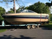 1987 fiberglass, 260 hp mercruiser I/O good cond.