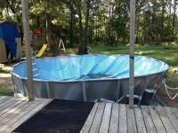 I have a 22 foot above ground pool that has been used