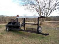 22' long concession type smoker . Other smokers in