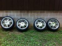 "I am selling these 22"" Giovanni's, they are 5-lug and"