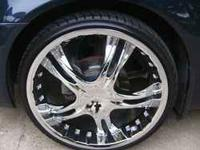 Helo 829 FWD rims and tires rim is 22x8.5 tires