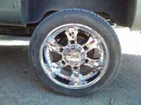 I am selling my 8 lug 22 inch rims and tires. i am