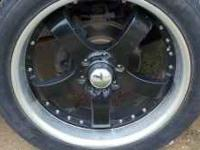 I have a set of 22 inch black chevy wheels I would like