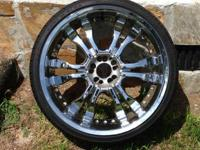 "I'm selling my 22"" rims. I hate to sell them but I have"