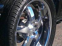 hi cl im selling my 22 inch boss rims very clean tires