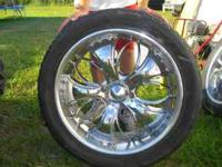 I have a set of 22 inch crome rims for sale!! They are