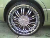 "22"" inch rims for sale with new tires threads r still"