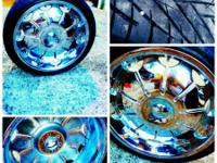 I have a set of 22 inch rims and wheels like new came