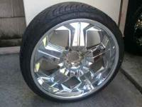 22 Inch Akuza Rims with Cooper Zeon XST 245/35R22