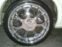 22 inch Rims for sale. I just bought 24s and I'm trying