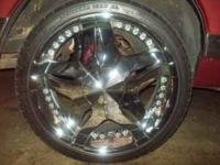 Really clean set of 22s,no curb marks at all, no leaks,
