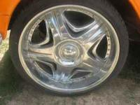 22inch akuza sting wheels with good tires... universal