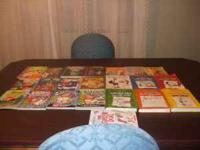22 kids books. great shape/like new. ASKING $25.00 OR