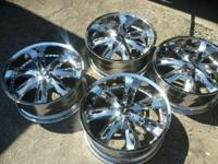 22' Inch Melani 5 lug Universal rims in Great Condition