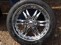 For sale: I am selling my set of 4 Niche 'Roxxy' chrome
