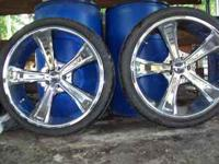 "22"" Panther Rims & Tires, ford 5 lug pattern. Please"