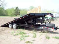 One 22' PJ Tilt Deck Trailer - Bumper Hitch - $6,375 -