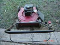 "22"" MURRAY PUSH MOWER W/ 3.5 BRIGGS & STRATTON MOTOR."