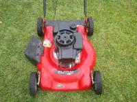 "I HAVE A 22"" MURRAY PUSH MOWER FOR SALE. THE BLADE HAS"