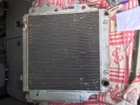 "have 22"" radiator cost $360, sell for $225;  and 60 amp"