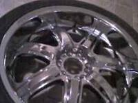I have some 265/40R22 for sale or trade. there is
