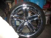 i have 22' 5 lug rims lil scuff on lip of rim but not
