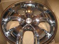 "Selling set of 22"" rims still in the box six lug."