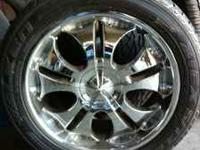 I have a set of 22'' rims 6 lug of a chevy with good