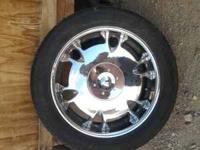 selling some 22'' rims .good condition ,rims are almost