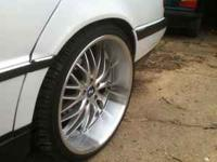 "22"" stagger rims-asking $995 OBO Almost new tires, they"