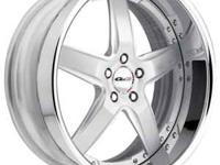 GOT BRAND NEW SET OF 22 INCH 3 PC FORGED GFG RIMS ONLY