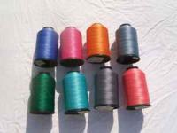 I have 22 new large spools of Nylon Bonded synthetic